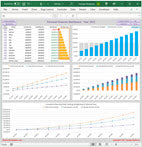 Easy monthly budget Excel templates