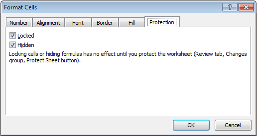 Excel Lock Unlock Cells in Worksheet for Protection