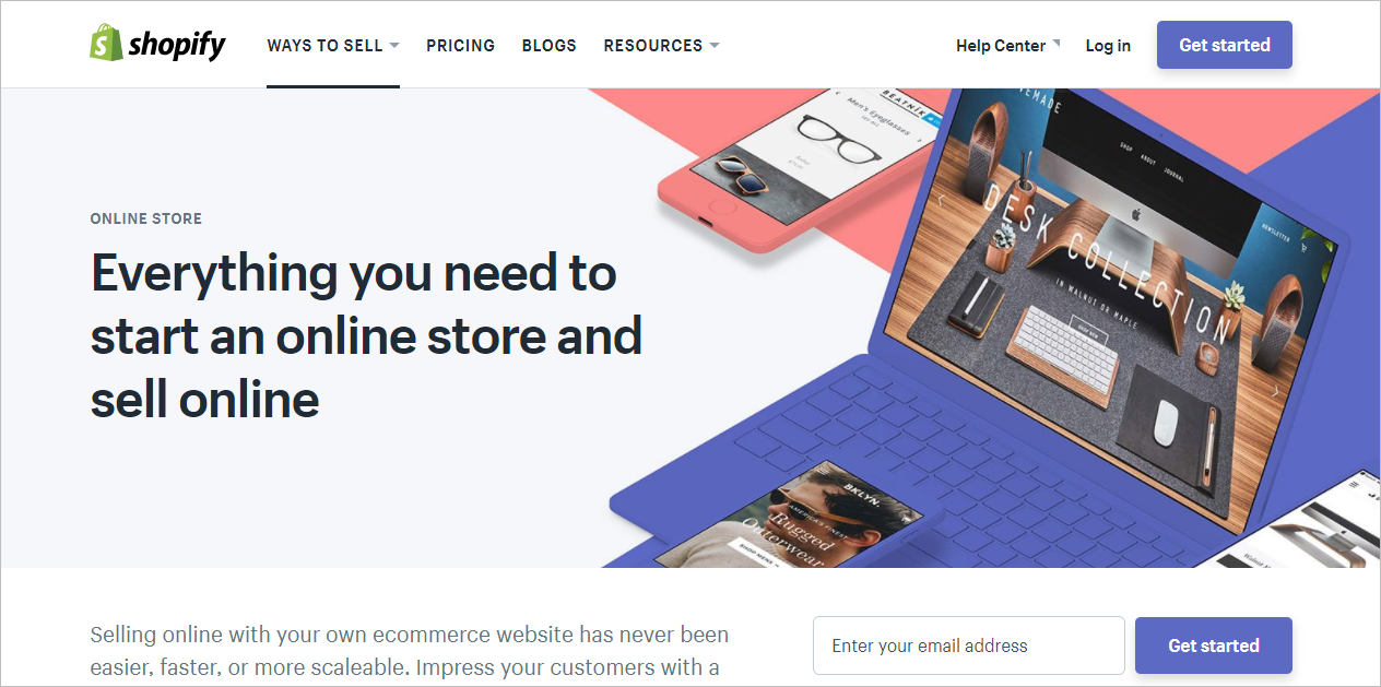 Shopify sell digital products