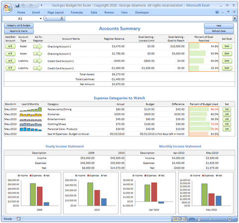 top best selling personal finance spreadsheet most popular software