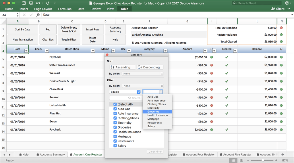 checkbook software for mac in excel spreadsheet buyexceltemplates com