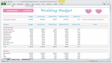 Georges Wedding Budget Spreadsheet - Basic