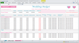 Georges Wedding Budget Spreadsheet - Plus