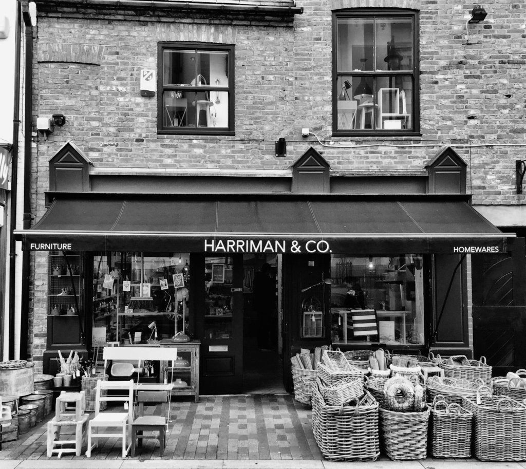 Harriman & Co. - listed in 'The 43 Best Independent Homeware Shops UK 2020' by Woven Rosa