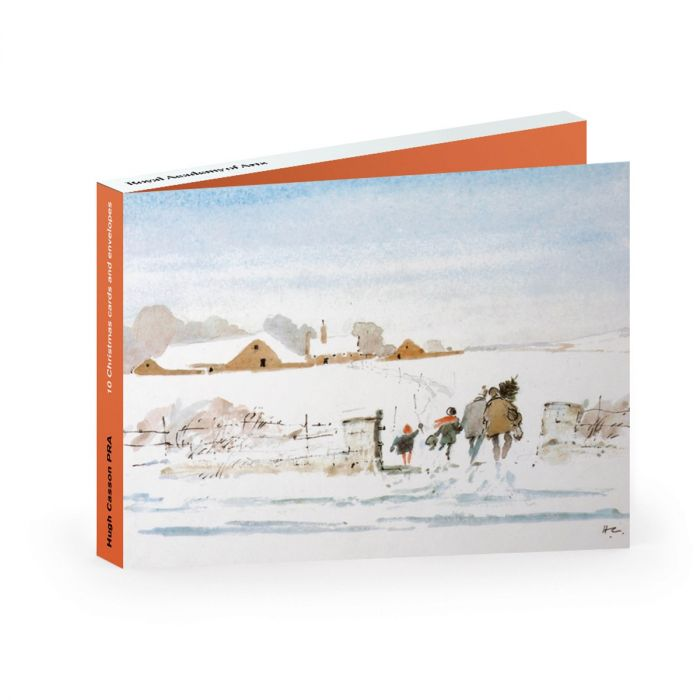 Christmas Cards Casson Pack of 10
