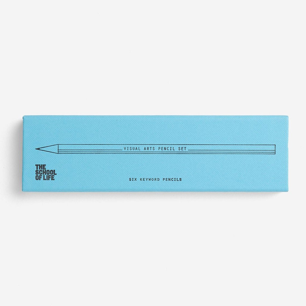 The School Of Life Visual Arts Keyword Pencil Set