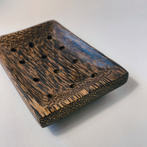 Palm Wood Soap Dish
