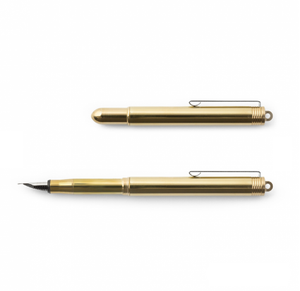 Travelers Company Brass Fountain Pen