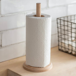 Beech Kitchen Roll Holder