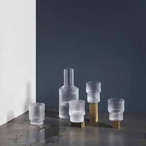 Ripple Short Glass Set of 4