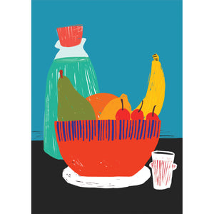 A3 Art Print - Fruit Bowl