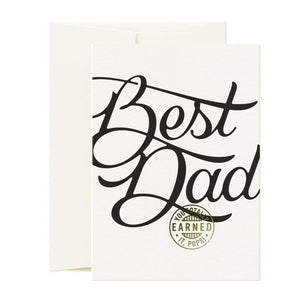 Card Totally Best Dad