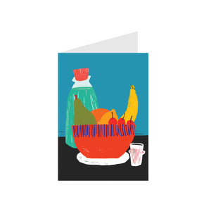 Art Card Fruit Bowl