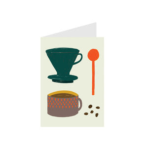 Art Card Morning Coffee