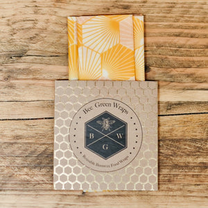 Beeswax Wraps - Lunch Set Hexagonal
