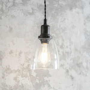 Hoxton Domed Glass Pendant Light