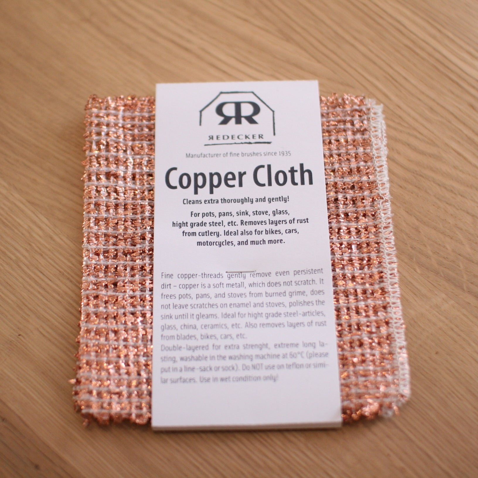 Copper Cloth Set