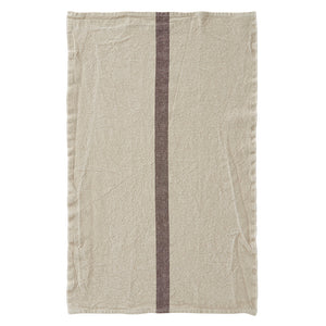 Single Stripe French Linen Towel