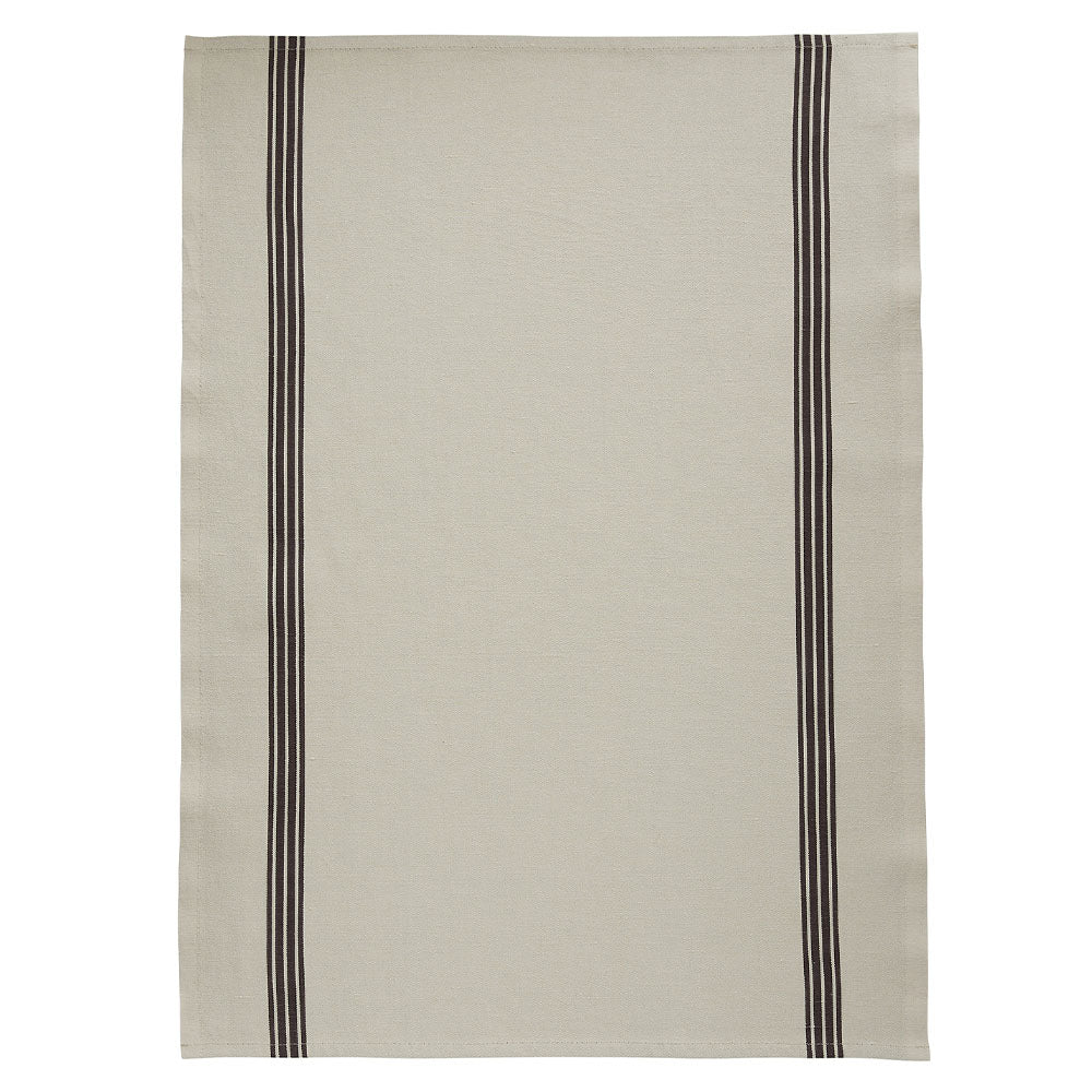 Stripe French Cotton/Linen Towel - Assorted