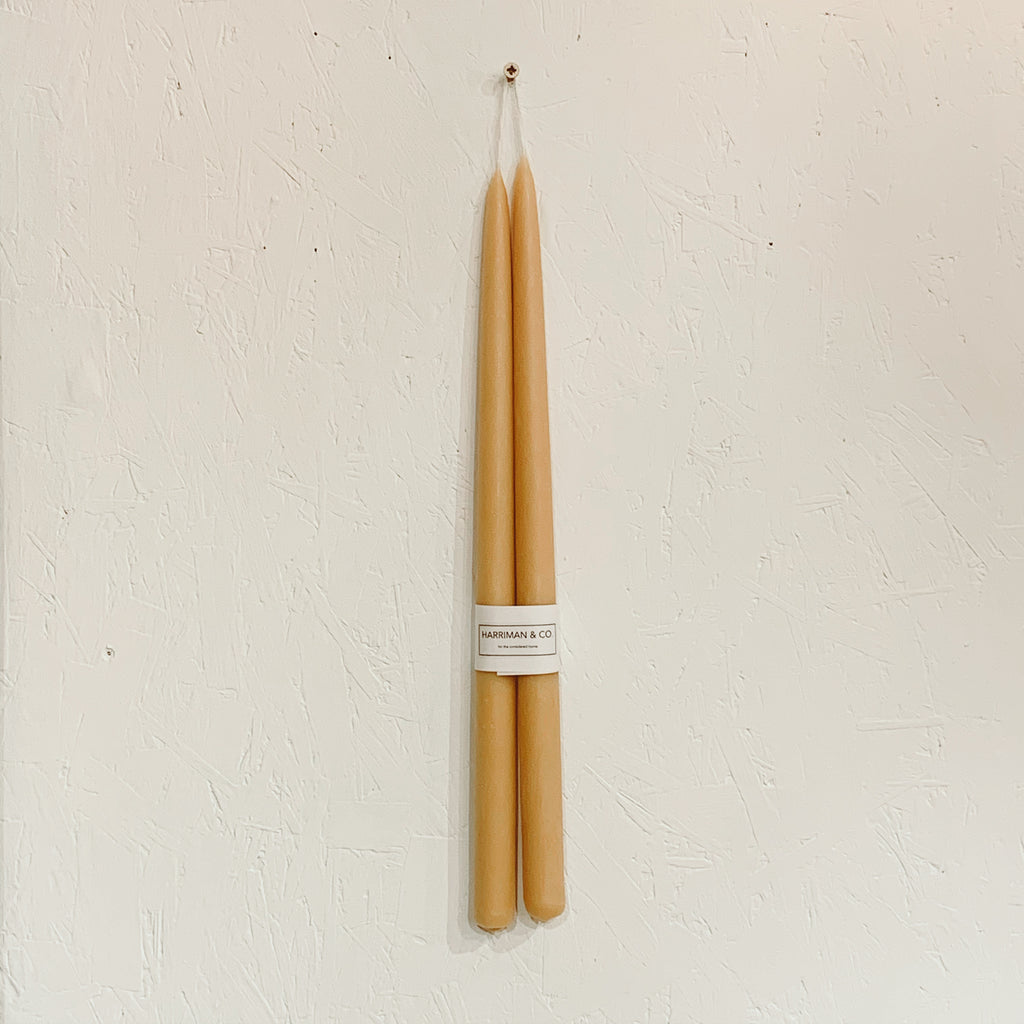 Beeswax Candles - Extra Long 450x25mm
