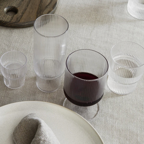 Ripple Extra Small Glass Set of 4