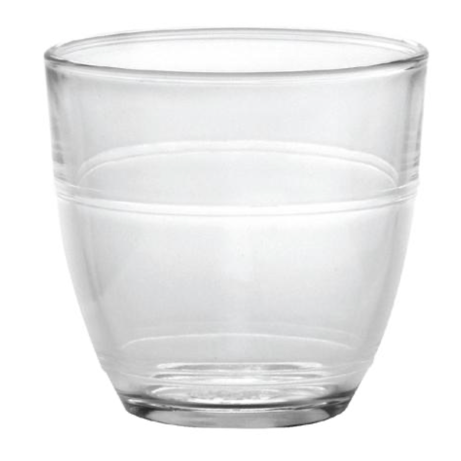 French Canteen Glass - Assorted