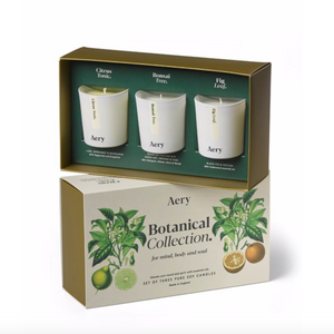 Botanical Candle Gift Set - White Collection