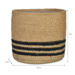 Jute Pot Striped