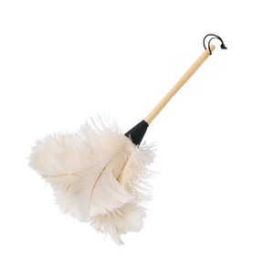 Ostrich Feather Duster White