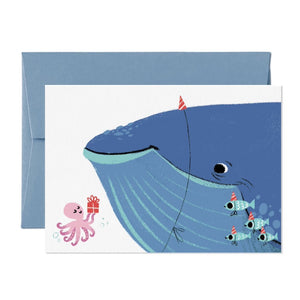 Card Whale of a time
