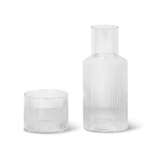 Ripple Carafe Set- Small