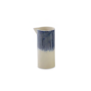 Karuma Ceramic Jug - Blue & White Sml