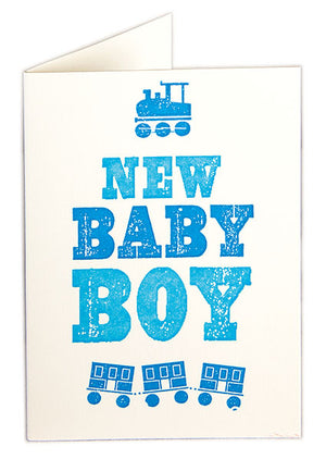 Card New Baby Boy Mini