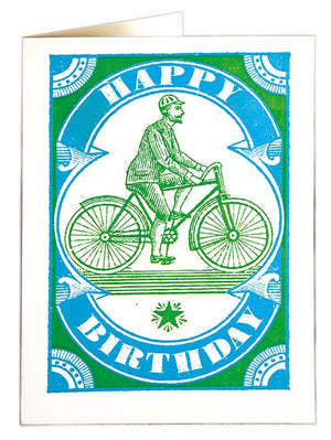 Card Bicycle Birthday