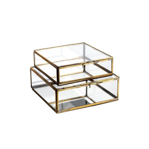 Ant. Brass Bequai Box - Assorted