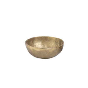 Jahani Bowl Brushed Gold Small