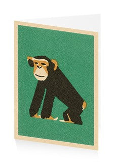 Card Chimpanzee