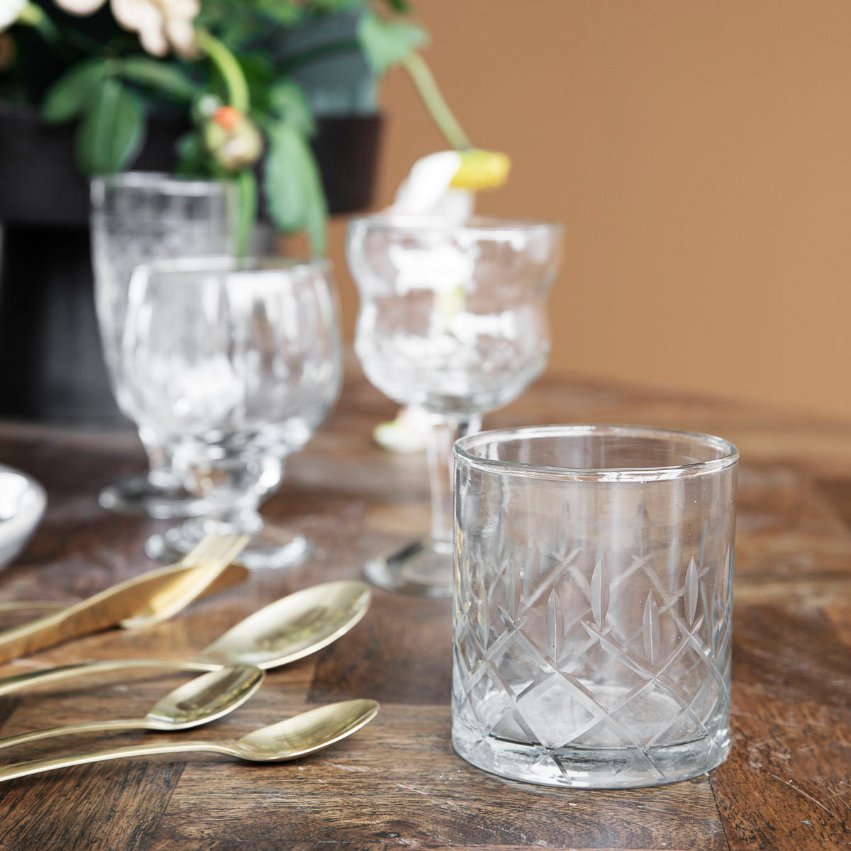 Whiskey Glass Vintage