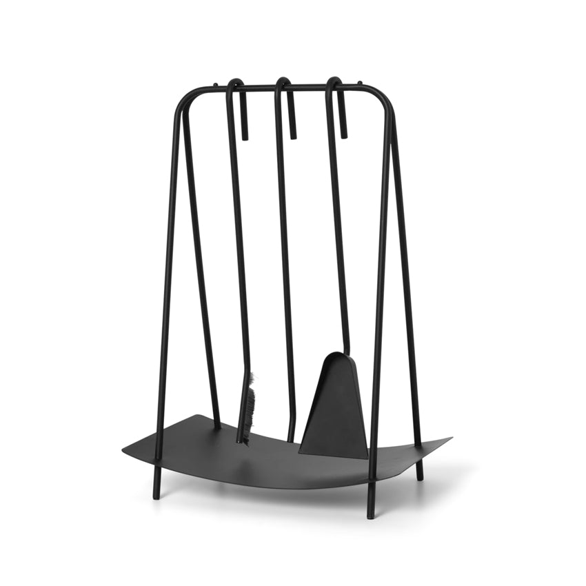 Port Fireplace Tools - Black
