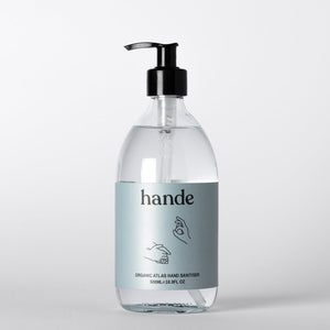 Organic Atlas Hand Sanitiser 500ML Pump