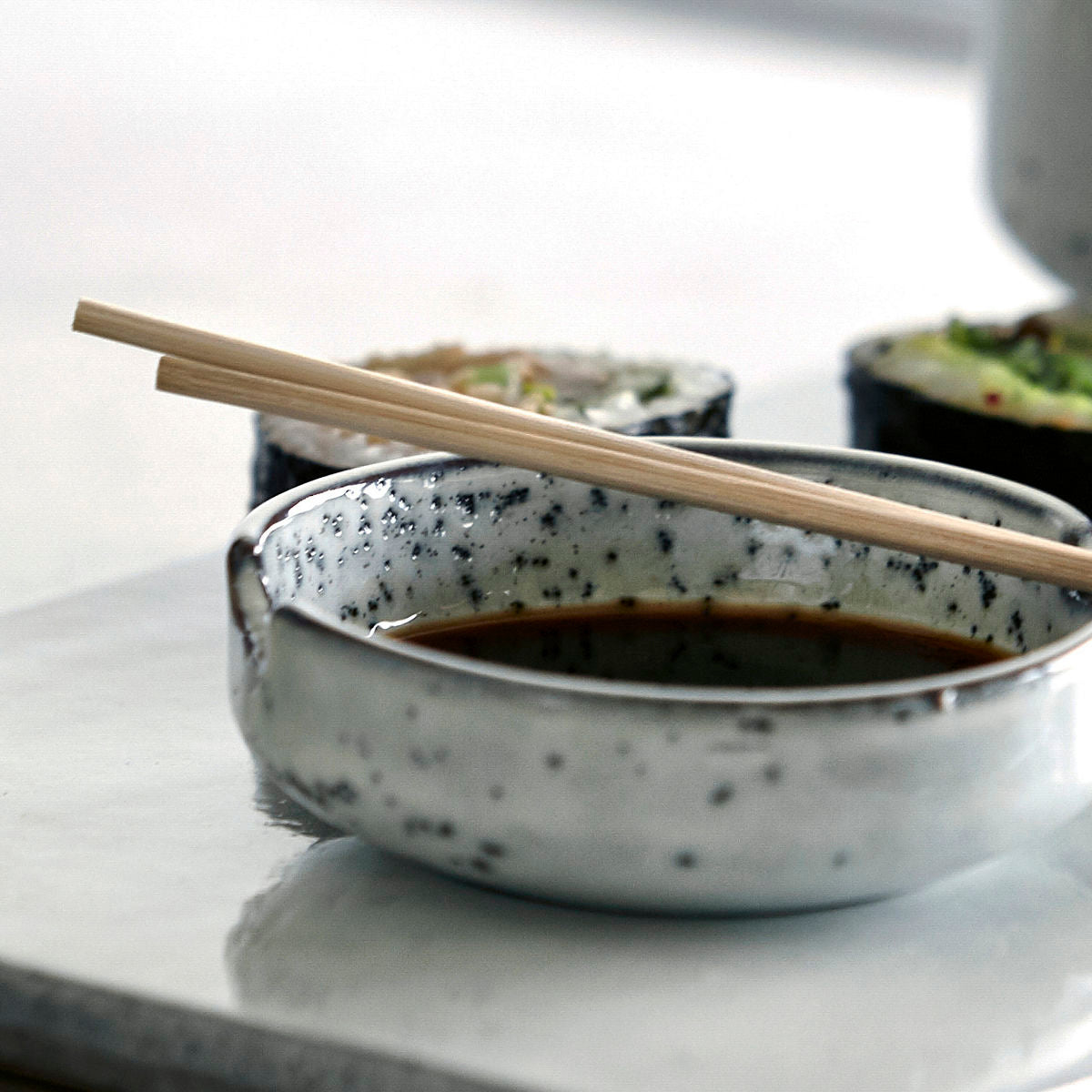 Rustic Grey/Blue Soy Bowl