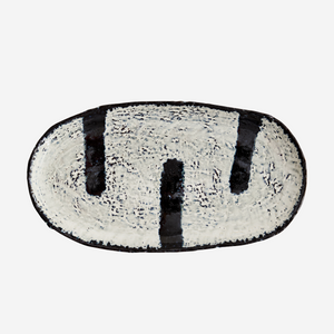 Porto Stripe Stoneware Platter - Assorted - Coming Soon