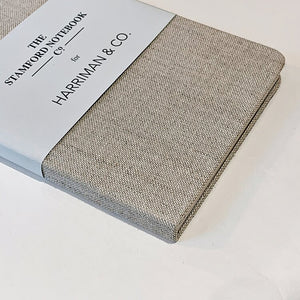 Quarto Cloth Medium Notebook Linen