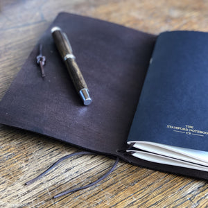 H&Co. Leather Travellers Journal - Assorted