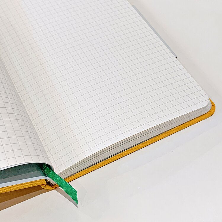 H&Co. Large Squared Notebook Yellow
