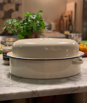 Enamel Oval Roaster - Assorted