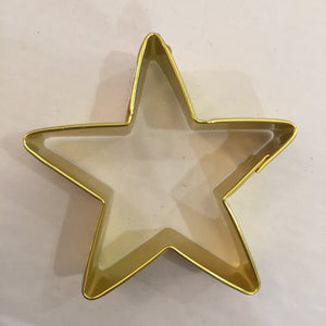 Gold Star Cookie Cutter Large