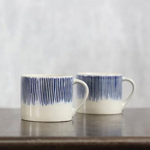 Karuma Mug - Blue & White