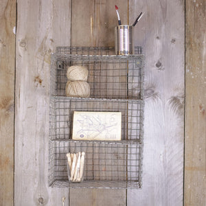 LR Shelf Distressed Grey
