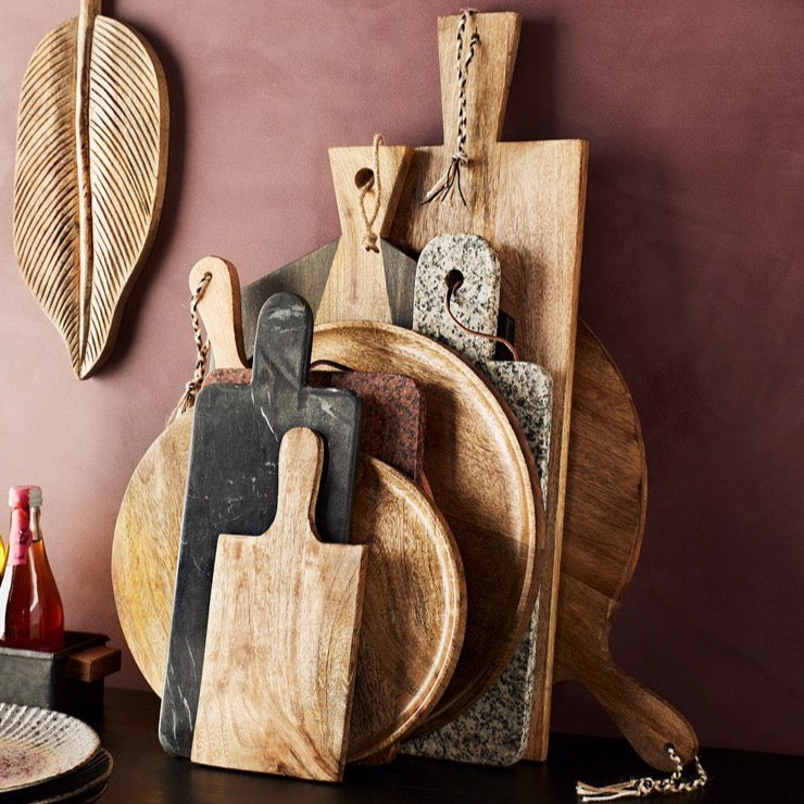 Mango Wood Serving Boards - Assorted